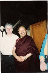 John Farrell and Tibetan Lama-Venerable-Yeshe-Losal